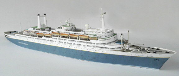 MARCLE MODELS Scale Model Card Kits For You To Build New Models - Model cruise ship kits